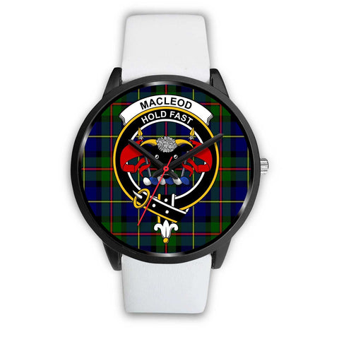 MacLeod Clans ,Silver Metal Mesh watch, leather steel watch, tartan watch, tartan watches, clan watch, scotland watch, merry christmas, cyber Monday, halloween, black Friday