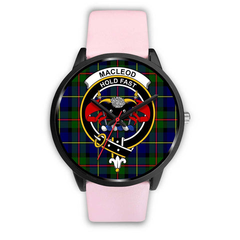 MacLeod Clans ,Silver Metal Link watch, leather steel watch, tartan watch, tartan watches, clan watch, scotland watch, merry christmas, cyber Monday, halloween, black Friday