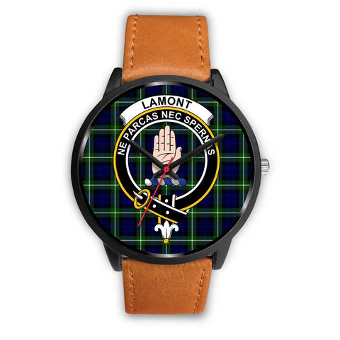 Lamont Modern Clans ,Pink Leather watch, leather steel watch, tartan watch, tartan watches, clan watch, scotland watch, merry christmas, cyber Monday, halloween, black Friday