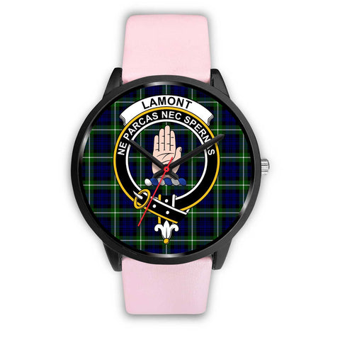 Lamont Modern Clans ,Silver Metal Link watch, leather steel watch, tartan watch, tartan watches, clan watch, scotland watch, merry christmas, cyber Monday, halloween, black Friday