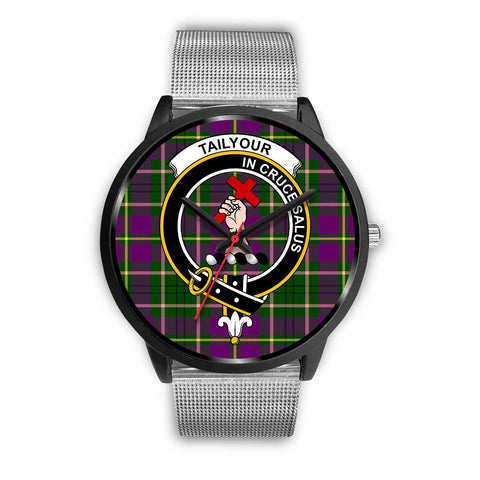 Taylor Clans ,Rose Gold Metal Link watch, leather steel watch, tartan watch, tartan watches, clan watch, scotland watch, merry christmas, cyber Monday, halloween, black Friday