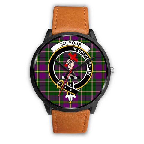 Taylor Clans ,Pink Leather watch, leather steel watch, tartan watch, tartan watches, clan watch, scotland watch, merry christmas, cyber Monday, halloween, black Friday