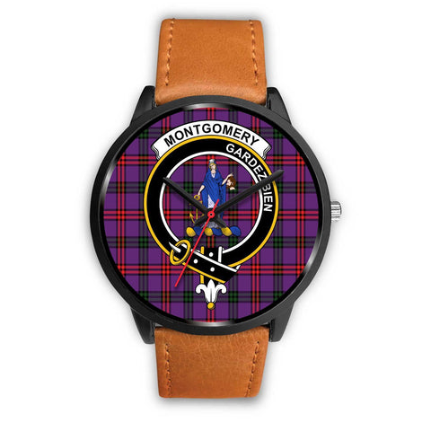 Montgomery Modern Clans ,Pink Leather watch, leather steel watch, tartan watch, tartan watches, clan watch, scotland watch, merry christmas, cyber Monday, halloween, black Friday