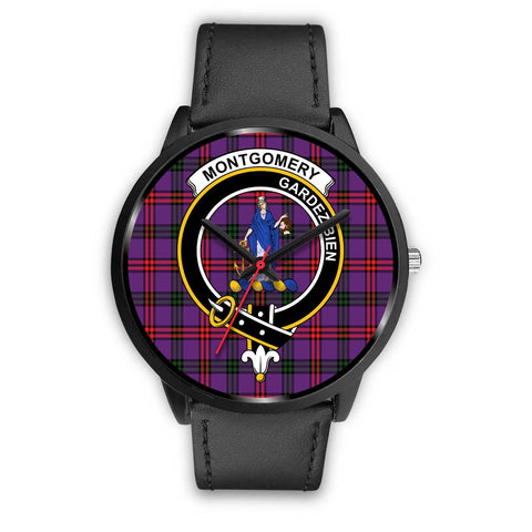 Montgomery Modern Clans ,Black Metal Mesh watch, leather steel watch, tartan watch, tartan watches, clan watch, scotland watch, merry christmas, cyber Monday, halloween, black Friday