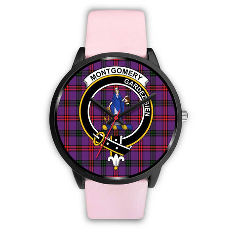 Montgomery Modern Clans ,Silver Metal Link watch, leather steel watch, tartan watch, tartan watches, clan watch, scotland watch, merry christmas, cyber Monday, halloween, black Friday