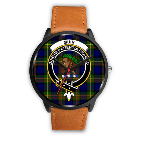 Muir Clans ,Pink Leather watch, leather steel watch, tartan watch, tartan watches, clan watch, scotland watch, merry christmas, cyber Monday, halloween, black Friday