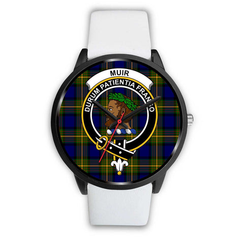 Muir Clans ,Silver Metal Mesh watch, leather steel watch, tartan watch, tartan watches, clan watch, scotland watch, merry christmas, cyber Monday, halloween, black Friday