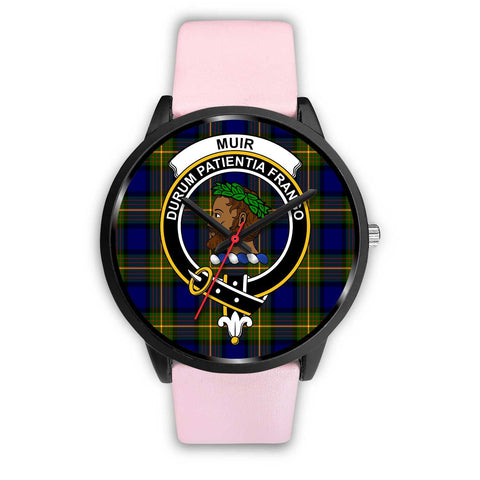 Muir Clans ,Silver Metal Link watch, leather steel watch, tartan watch, tartan watches, clan watch, scotland watch, merry christmas, cyber Monday, halloween, black Friday