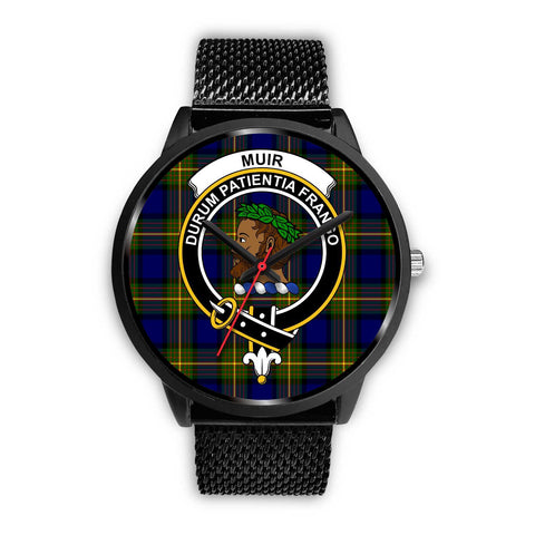 Muir Clans ,Rose Gold Metal Mesh watch, leather steel watch, tartan watch, tartan watches, clan watch, scotland watch, merry christmas, cyber Monday, halloween, black Friday