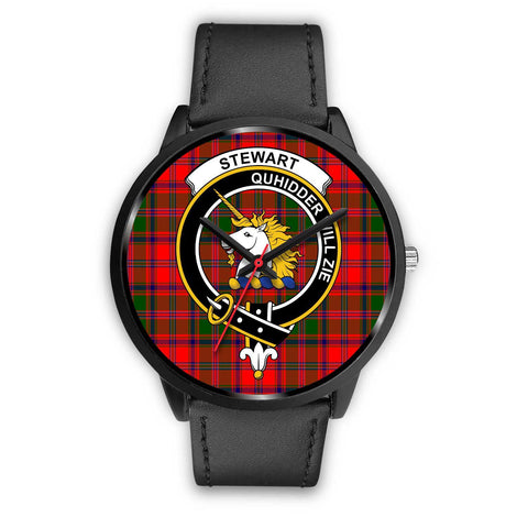 Stewart of Appin Clans ,Black Metal Mesh watch, leather steel watch, tartan watch, tartan watches, clan watch, scotland watch, merry christmas, cyber Monday, halloween, black Friday