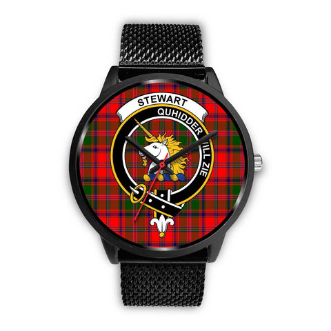 Stewart of Appin Clans ,Rose Gold Metal Mesh watch, leather steel watch, tartan watch, tartan watches, clan watch, scotland watch, merry christmas, cyber Monday, halloween, black Friday