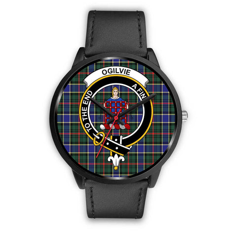 Ogilvie Hunting Modern Clans ,Black Metal Mesh watch, leather steel watch, tartan watch, tartan watches, clan watch, scotland watch, merry christmas, cyber Monday, halloween, black Friday
