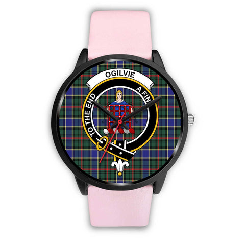 Ogilvie Hunting Modern Clans ,Silver Metal Link watch, leather steel watch, tartan watch, tartan watches, clan watch, scotland watch, merry christmas, cyber Monday, halloween, black Friday