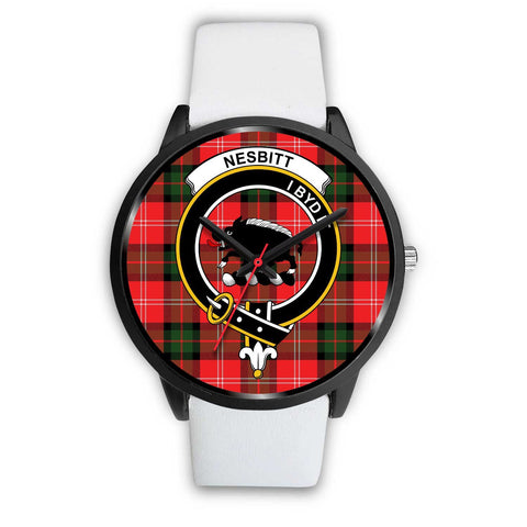 Nesbitt Modern Clans ,Silver Metal Mesh watch, leather steel watch, tartan watch, tartan watches, clan watch, scotland watch, merry christmas, cyber Monday, halloween, black Friday