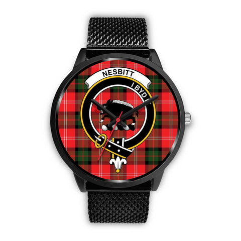 Nesbitt Modern Clans ,Rose Gold Metal Mesh watch, leather steel watch, tartan watch, tartan watches, clan watch, scotland watch, merry christmas, cyber Monday, halloween, black Friday