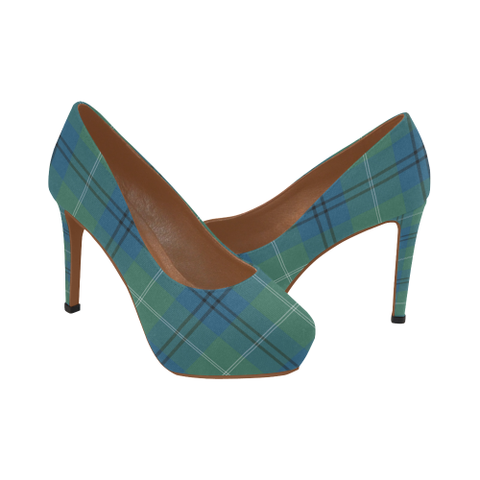 Oliphant Ancient Plaid Heels