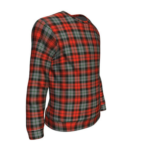 Tartan Sweatshirt - Clan MacLachlan Weathered Sweatshirt For Men & Women