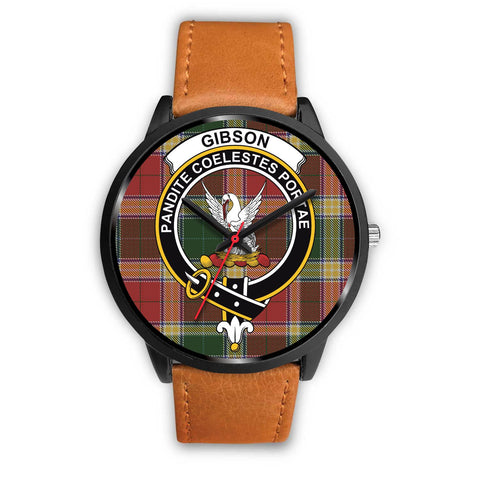 Gibson Clan Badge Tartan Watch