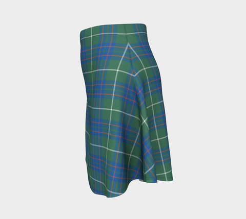 Tartan Flared Skirt - MacIntyre Hunting Ancient |Over 500 Tartans | Special Custom Design | Love Scotland
