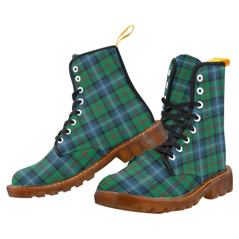 Image of Urquhart Ancient Tartan Martin boots | Scotland Boots | Over 500 Tartans