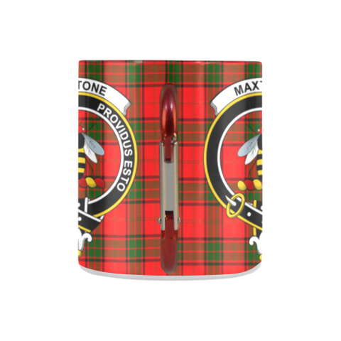 ScottishShop Insulated Mug - MaxtoneTartan Insulated Mug - Clan Badge