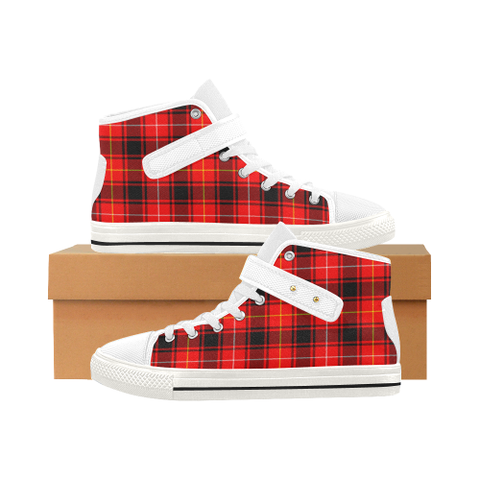 Image of Macintyre Modern Tartan Shoes - Aquila Strap Shoes