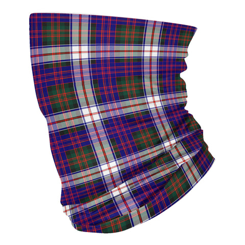 Image of Scottish MacDonald Dress Modern Tartan Neck Gaiter  (USA Shipping Line)