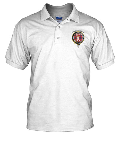 Robertson Tartan Polo T-shirt for Men and Women