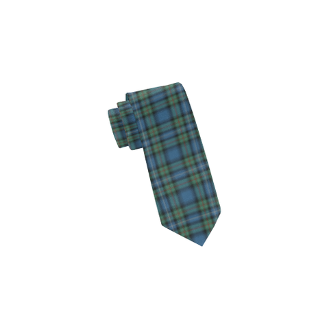 Image of Tartan Necktie - Robertson Hunting Ancient Tie