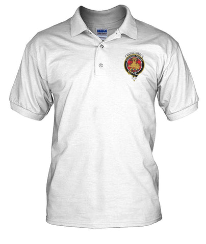 MacGillivray Tartan Polo T-shirt for Men and Women