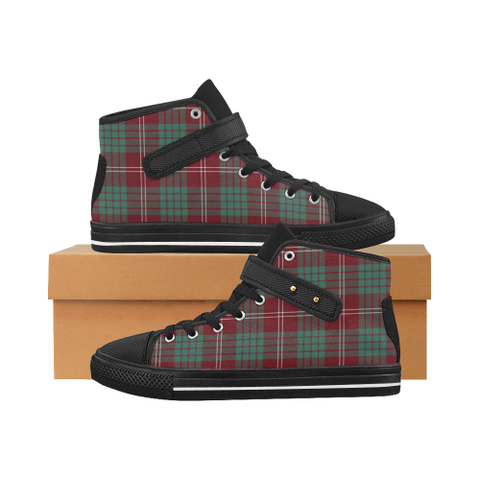 Image of Crawford Modern Tartan Shoes - Aquila Strap Shoes