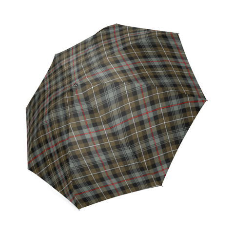 Mackenzie Weathered Tartan Umbrella