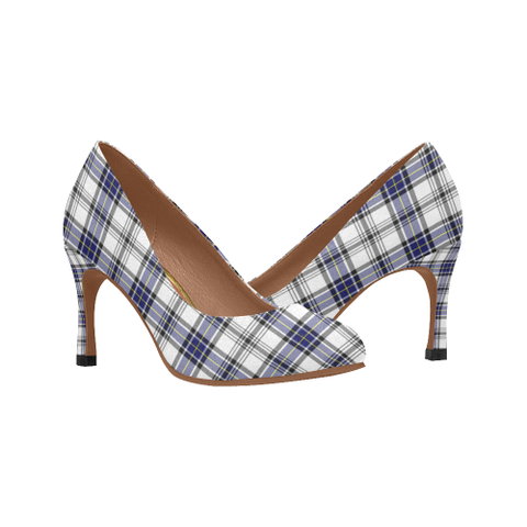 Image of Hannay Plaid Heels