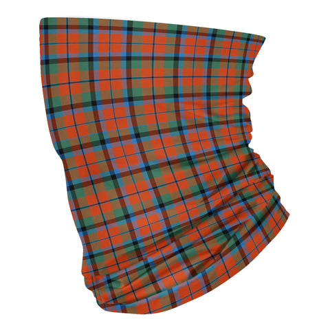 Scottish MacNaughton Ancient Tartan Neck Gaiter  (USA Shipping Line)