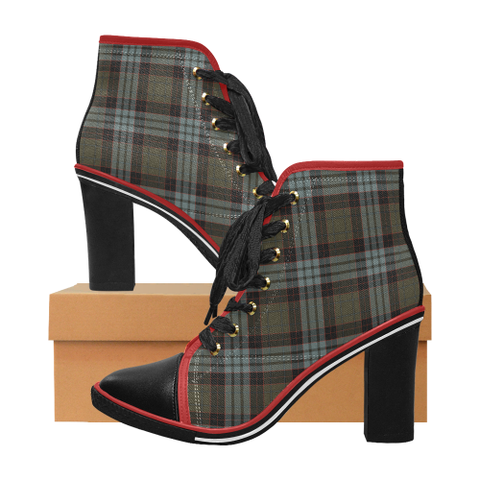 Image of Tartan Heel - Stewart Old Weathered | Hot Sale | Online Orders Only | 500 Tartans