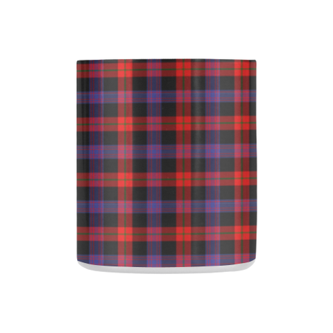 ScottishShop Insulated Mug - Broun Modern Tartan Insulated Mug - Clan Badge