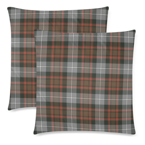 MacRae Hunting Weathered decorative pillow covers, MacRae Hunting Weathered tartan cushion covers, MacRae Hunting Weathered plaid pillow covers