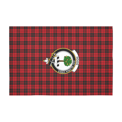 Hogg (or Hog) Crest Tartan Tablecloth | Home Decor