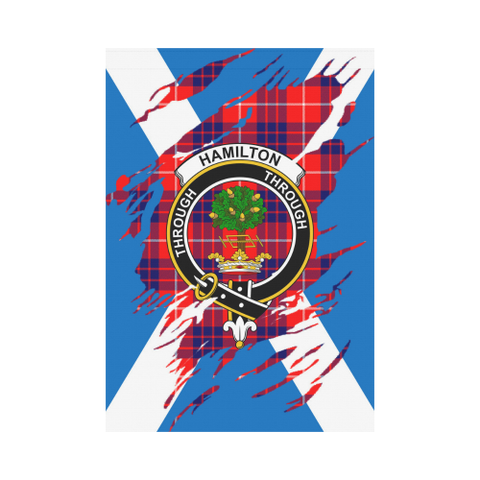Garden Flag | Tartan Hamilton Lives In Me Flag | 2 Sizes