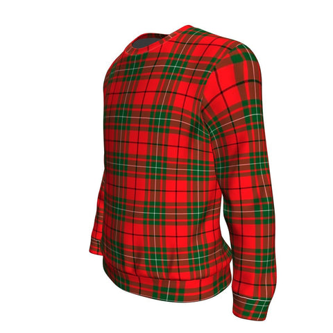 Tartan Sweatshirt - Clan MacAulay Modern Sweatshirt For Men & Women