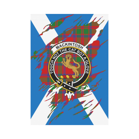 ScottishShop Garden Flag - Tartan Mackintosh Lives In Me Flag