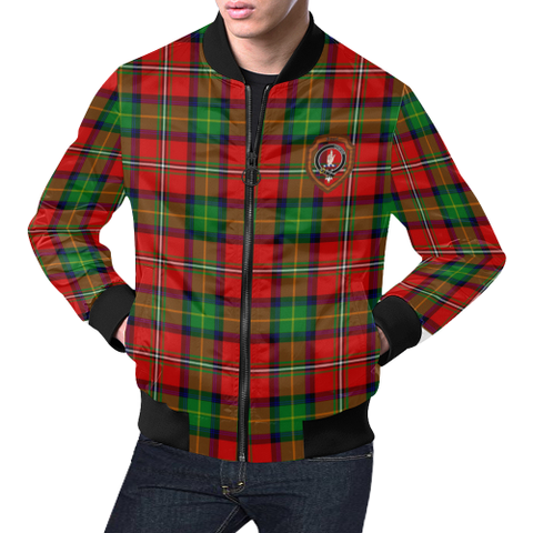 Boyd Tartan Bomber Jacket | Scottish Jacket | Scotland Clothing