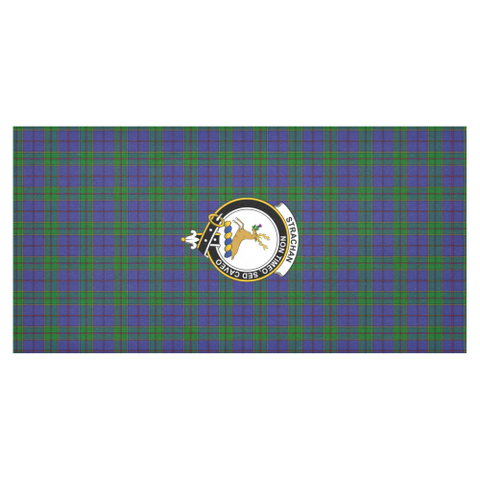 Strachan Crest Tartan Tablecloth | Home Decor