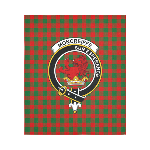 Image of Moncrieffe Tartan Tapestry Clan Crest