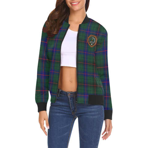 Image of Davidson Tartan Bomber Jacket | Scottish Jacket | Scotland Clothing