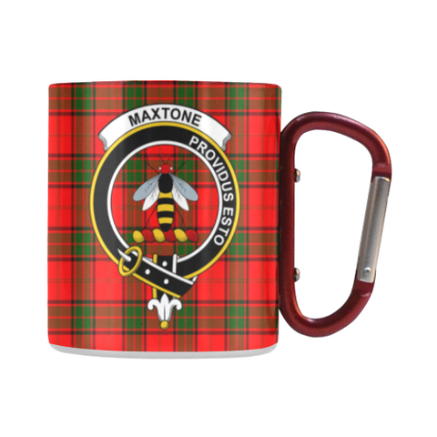 Maxtone Tartan Mug Classic Insulated - Clan Badge