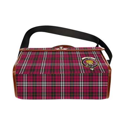 Little Clan Tartan Canvas Bag | Special Custom Design