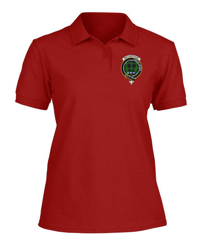 Polo T-Shirt - MacArthur (or Arthur) Tartan Polo T-shirt for Men and Women