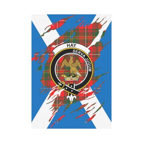 Garden Flag | Tartan Hay Lives In Me Flag | 2 Sizes