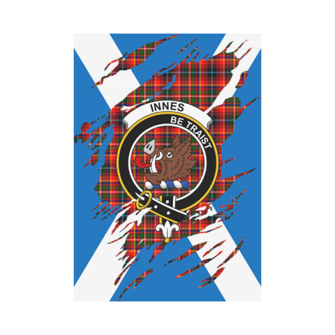 Garden Flag | Tartan Innes Lives In Me Flag | 2 Sizes